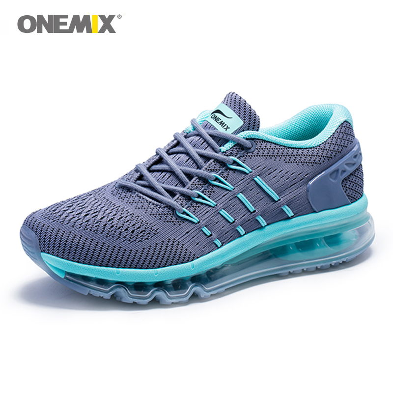 Onemix Max Women Running Shoes 2019 Unique Shoe Tongue Athletic Trainers Pink Women's Breathable Sports Shoe Cushion Sneakers