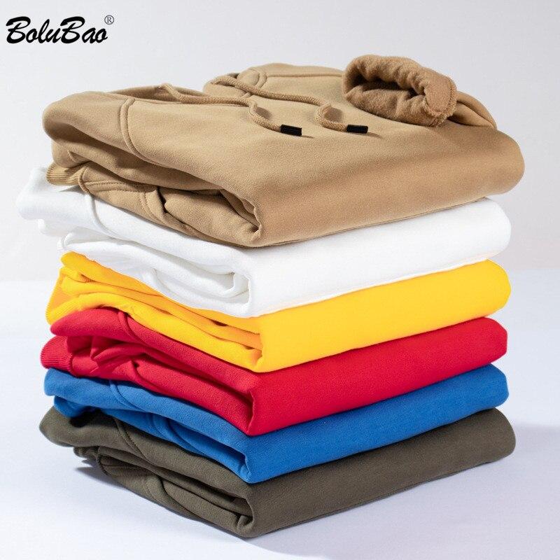 BOLUBAO New Autumn Fashion Hoodies Male Large Size Warm Men Long Sleeve Hoodies Sweatshirts EU Size