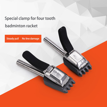 Alpha 1PCS 1.20mm/1.22mm/1.23mm Badminton String Machine Base Clip Flying Clamp Threader Accessorie Tools