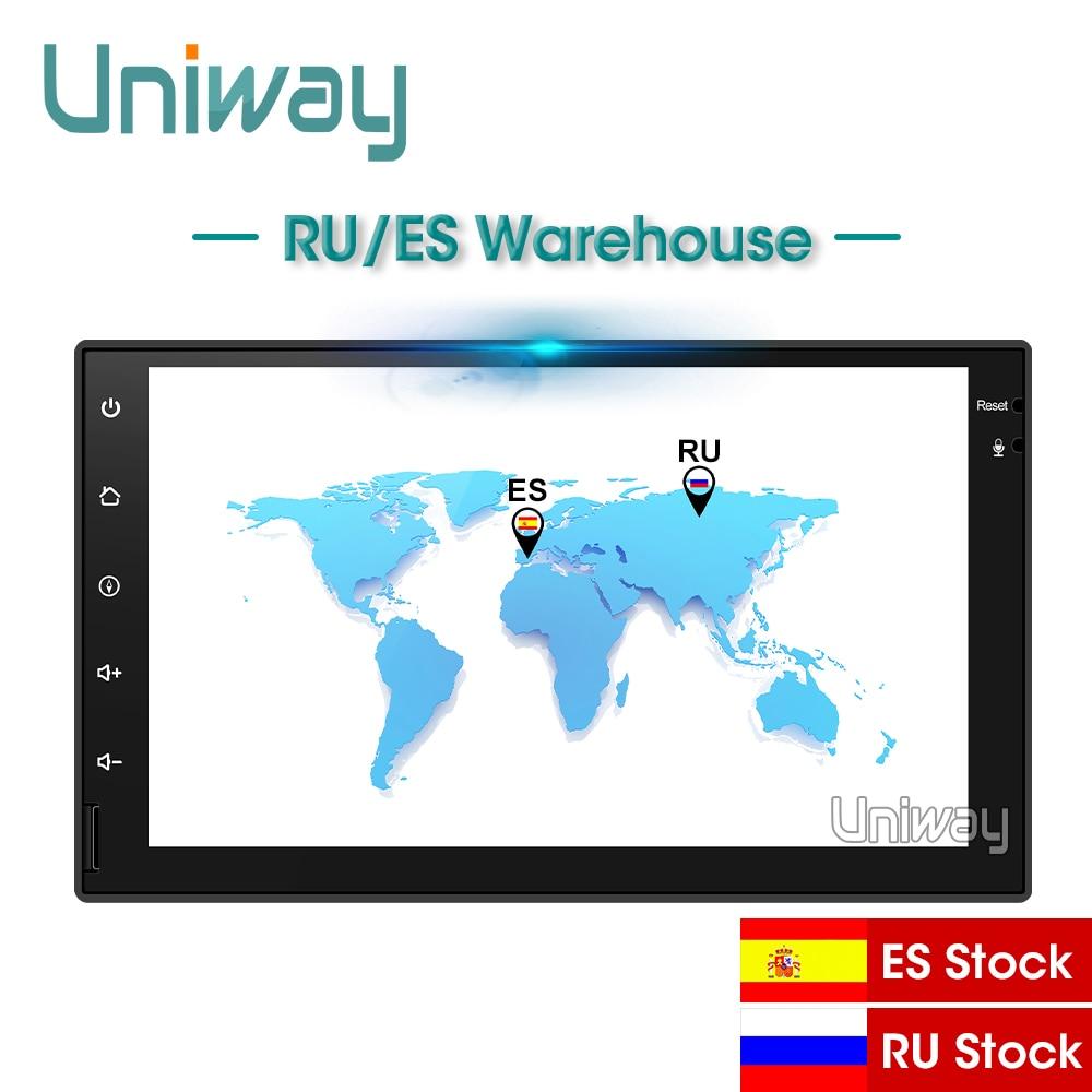 Uniway AWD7071 Octa dvd de voiture de base pour nissan qashqai x-trail almera note juke lecteur multimédia universel de navigation gps de voiture