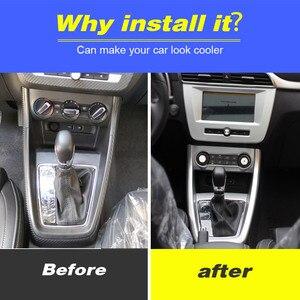 Image 2 - Vtear For MG ZS car center console frame gear shift decorative GPS panel cover interior trim accessories decoration automobile