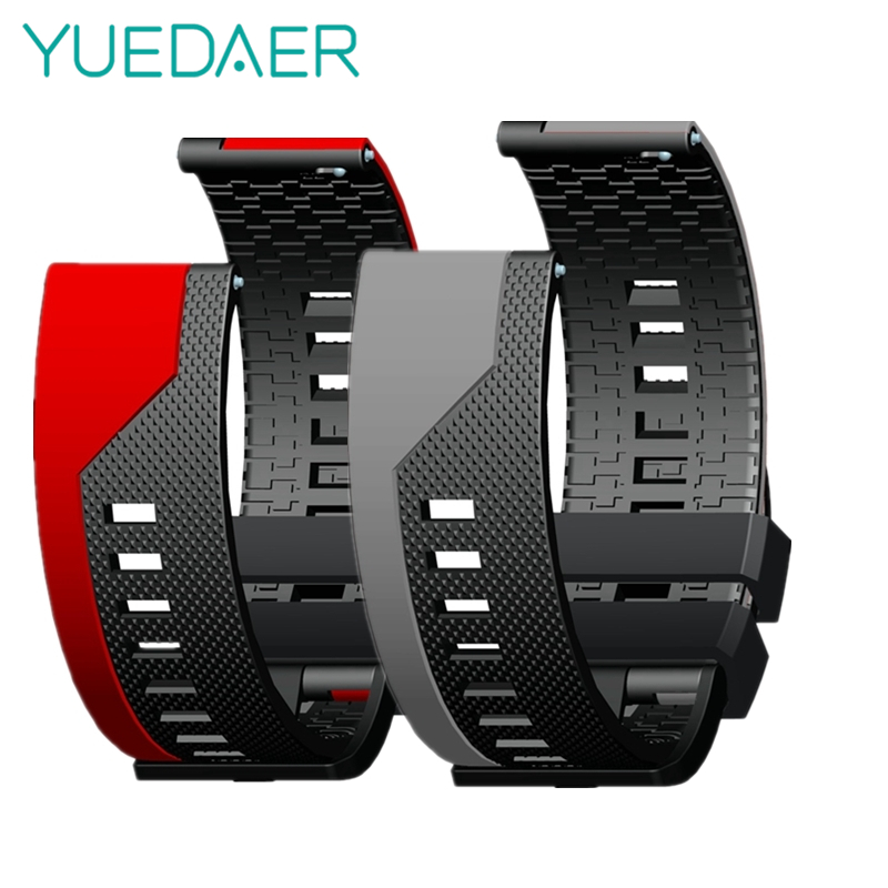 YUEDAER For Amazfit GTR 47MM Strap For Huami Amazfit Bip Lite/Stratos 3 2/Pace/GTS Watch Band For Huawei GT 2 Watchband Stripe