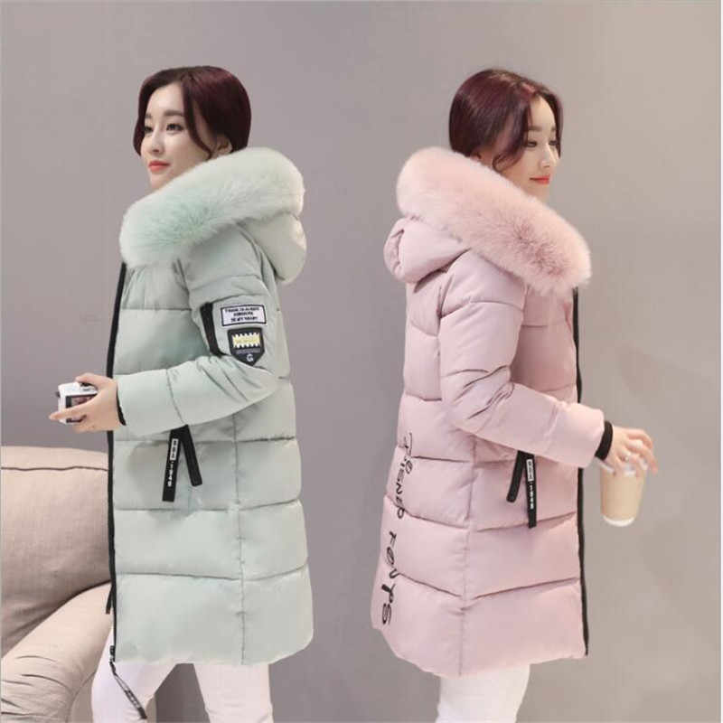 Parka coat women winter coat long cotton casual cotton hooded coat women thick warm winter coat women coat coat 2019 new