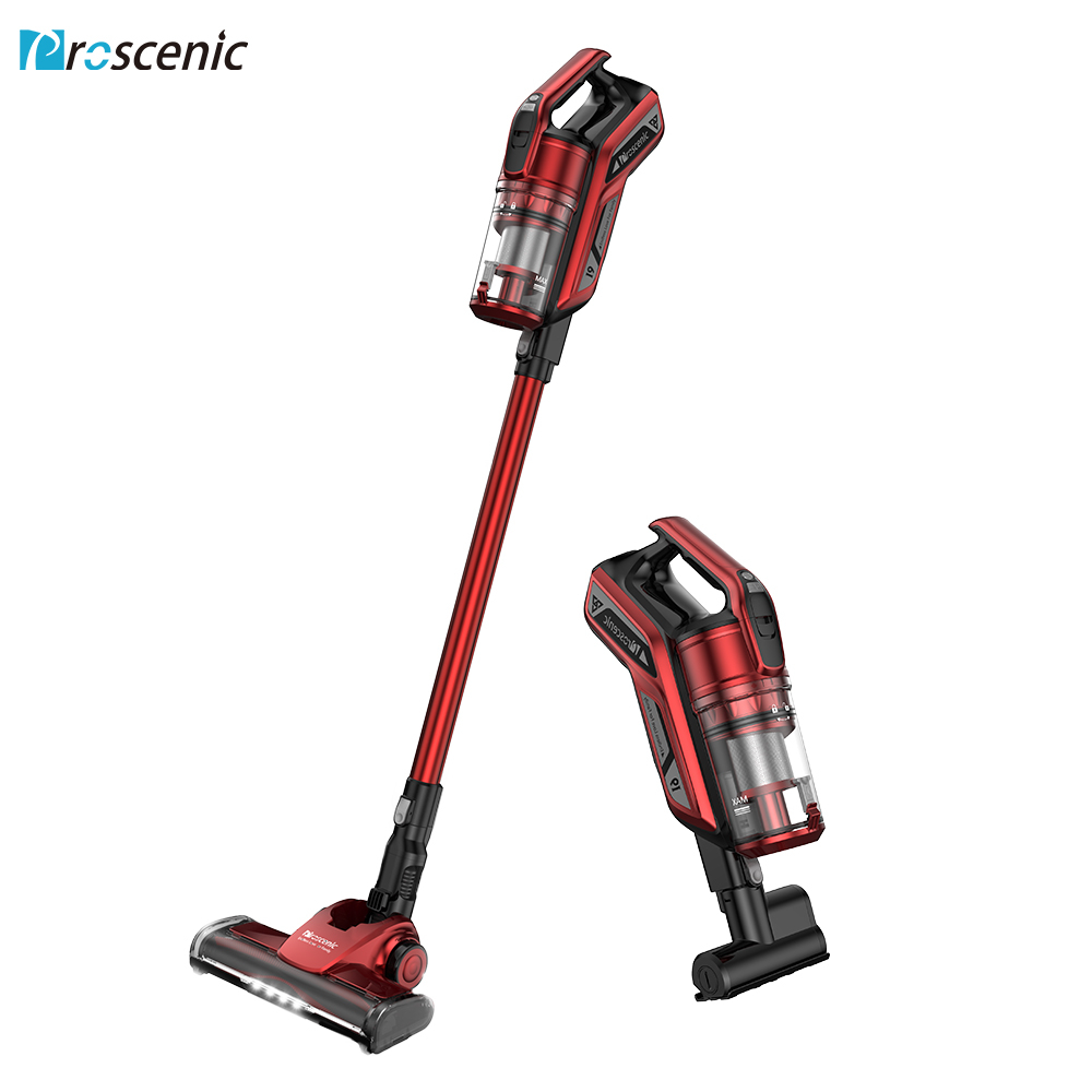 Handheld Cordless Vacuum Cleaner Proscenic I9 Vertical Wireless Carpet Cleaner 22000Pa Cyclone Portable Vacuum Cleaner For Home