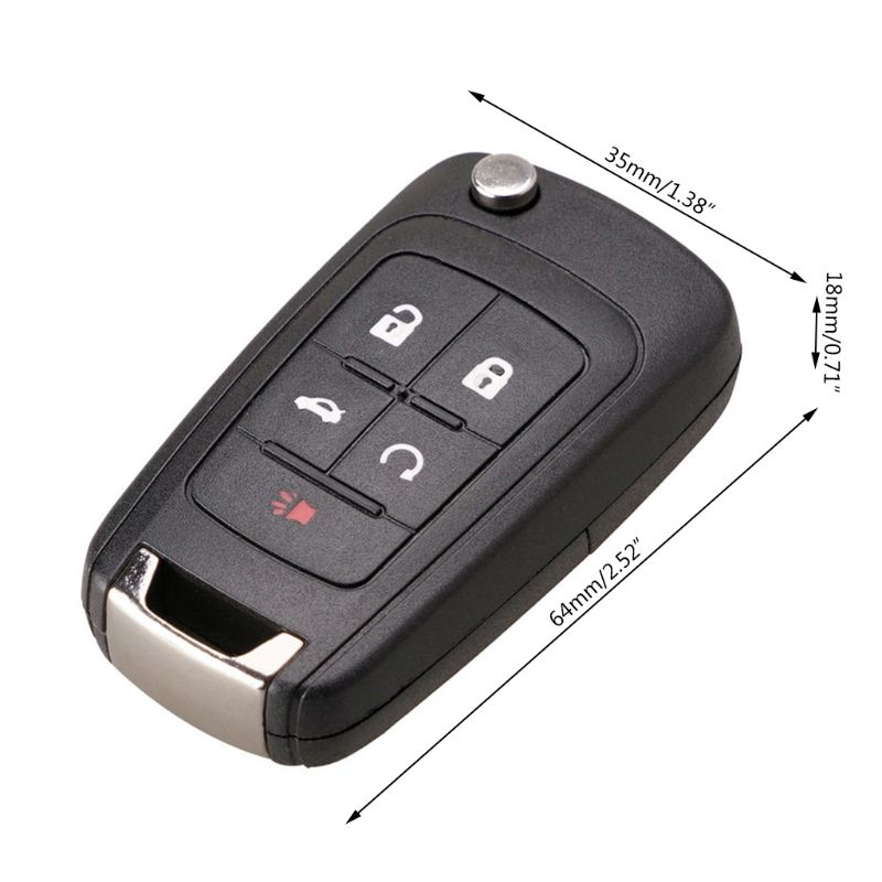 2 Replacement For 2010 2011 2012 2013 2014 2015 2016 Chevrolet Equinox Remote