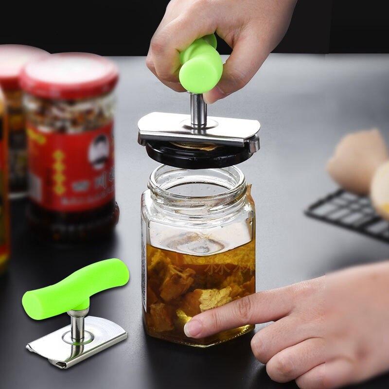 Handy Jar Opener Bottle Opener Keychain Knuckles For Self-defense Bottle Opener Wall Opener Beer Electric Can Opener