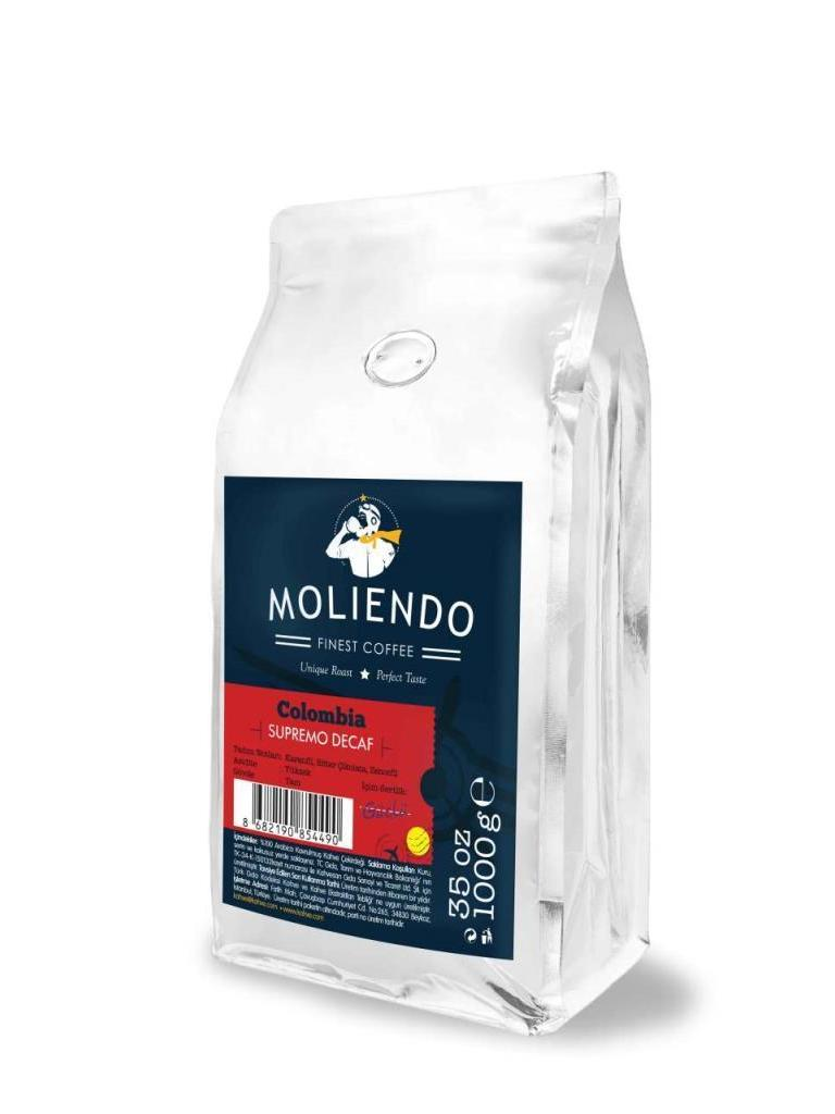 Colombia Supremo Decaf Coffee by Moliendo image