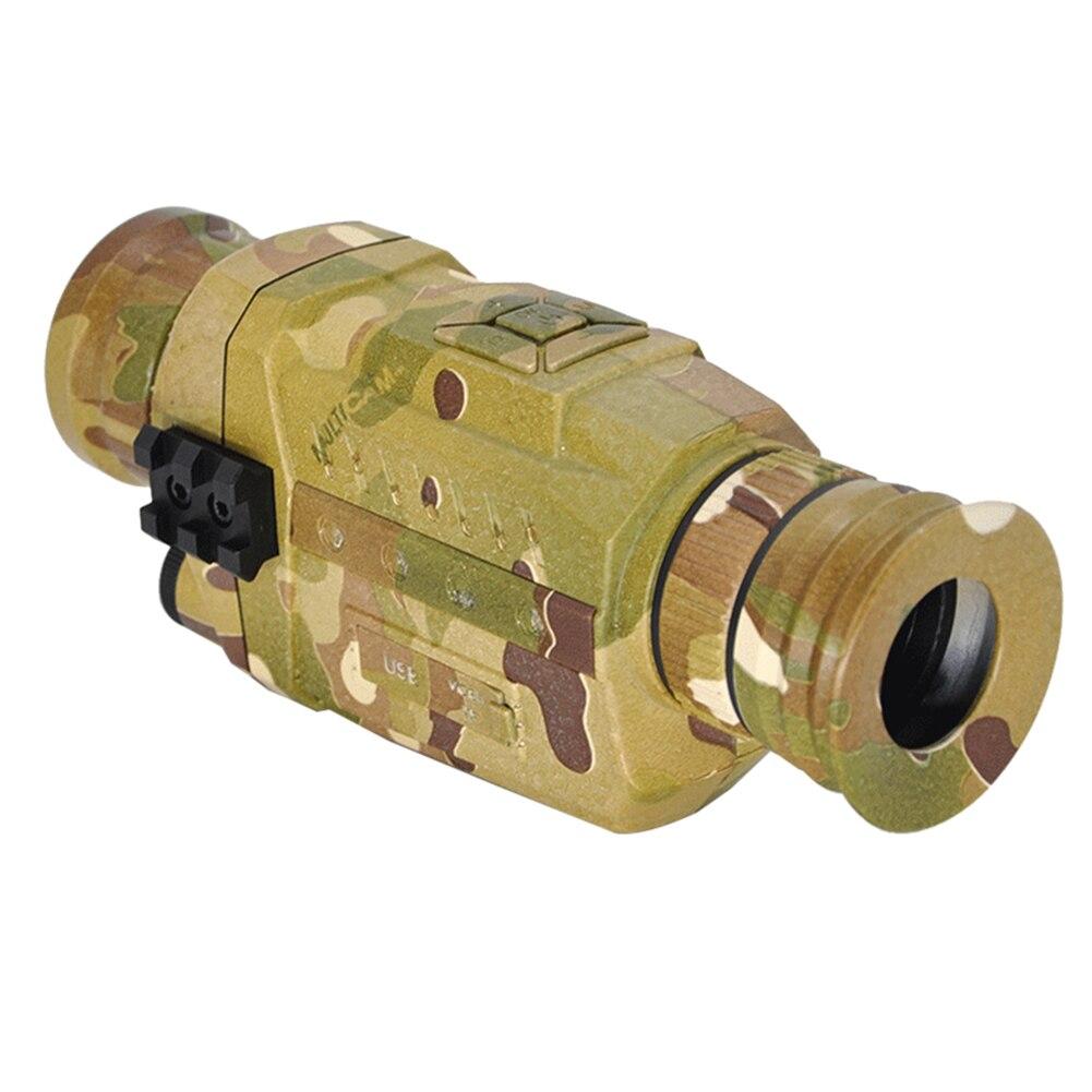 Infrarouge numérique Vision nocturne monoculaire 5X caméra vidéo portée 200M pour la chasse en plein air Camping utilisé pour prendre des Photos - 2