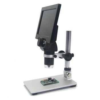 7 cal mikroskop 1200X cyfrowy wyświetlacz LCD mikroskop elektronowy endoskop lupa dla telefon komórkowy konserwacji do naprawy płyty głównej tanie i dobre opinie intelitopia 500X-1500X Wysokiej Rozdzielczości Handheld PORTABLE Mikroskop wideo 1200X Digital Electronic Microscope Ze stopu Aluminium ze stopu Aluminium