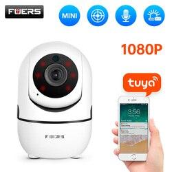 Fuers 1080P IP Камера приложение Tuya автоматическое слежение домашняя комнатная камера безопасности Камера наблюдения Беспроводной Wi-Fi Камера Ви...
