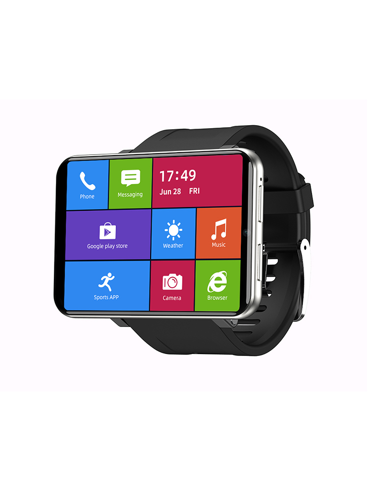 Ticwris Android-Watch 8mp-Camera GPS Big-Display Men 4G for IOS Face-Id-2880mah 3GB 32GB