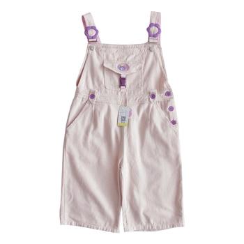 Summer Soft Girl Vintage Overalls Womens 2020 Harajuku Kawaii High Waist Denim Shorts Cute Loose Pink College Short Jeans Romper