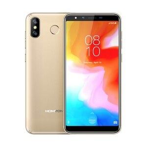 """Image 2 - HOMTOM H5 Điện Thoại Thông Minh 3GB RAM 32GB ROM 5.7 """"4G LTE MTK6739 Quad Core Android 8.1 13.0MP 3300MAH Vân Tay Mặt ID Điện Thoại Di Động"""