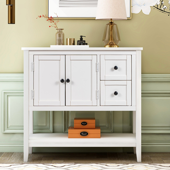 36'' Modern Console Accent Table  1