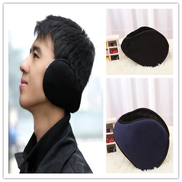 1pcs Ear Muffs Winter Ear Warmers Fleece Earwarmer Men Women Behind The Head Band