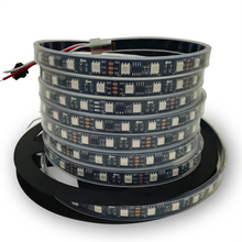 led strip light 5050 WS2811 rgb ws2811IC RGB SMD White/Black PCB
