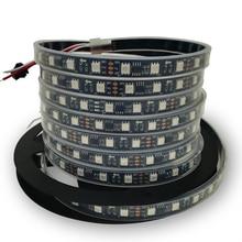led strip light 5050 WS2811 led strip light rgb led strip ws2811IC 5050 RGB SMD White/Black PCB led strip light