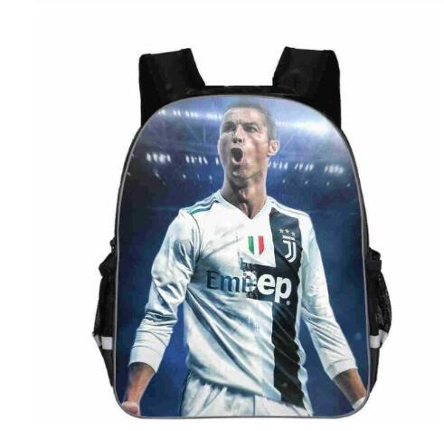 Hot Sale Cristiano Ronaldo CR7 Backpack Students Boys Girls School Bags Fashion New Kids Boy Girl Back To School Gift School Bag