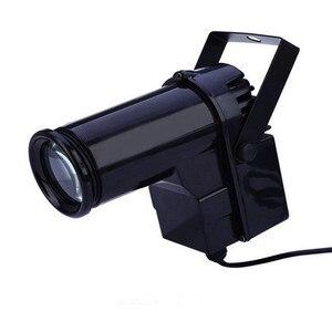 Image 3 - Thrisdar รีโมทคอนโทรล LED RGB Beam Pinspot แสงสะท้อนแสงกระจก Ball กับมอเตอร์ Party Wedding Disco Ball Light