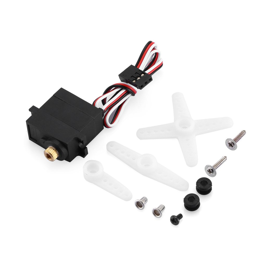 T power 3206MG Metal Waterproof Steering Gear Replace Traxxas 2065 Upgrade For TRX 4 E Maxx Summit Revo 3 3 Slash E REVO 1 10 in Model Accessories from Toys Hobbies