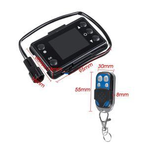 Image 5 - LCD Parkplatz Heizung Monitor Digital Schalter Auto Heizung Gerät Controller Universal für Auto Air Heizung W/4 Taste Remote control