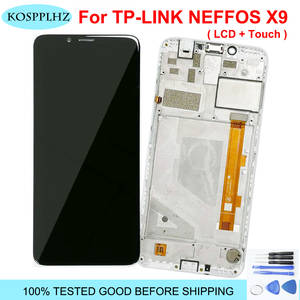 Sensor Lcd-Display TP-LINK Neffos Frame Touch-Screen Replacement--Tool for X9 TP913A
