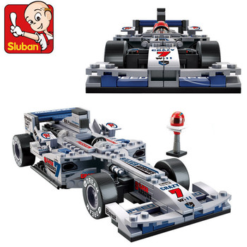 City F1 Racing Car Building Blocks Sets DIY Construction Bricks Motorcycle Race Car Model Technic Educational Toys For Children 1242pcs 1 8 f1 formula racing car model building blocks bricks set educational toy children gift compatible with 5stare technic