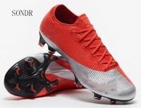 Neueste Turnschuhe Männer Fabrik Preis Fußball Stollen Stiefel Lange Spikes FG Spikes Turnschuhe Weiche Indoor Turf Futsal Fußball Schuhe 2020-in Fußballschuhe aus Sport und Unterhaltung bei
