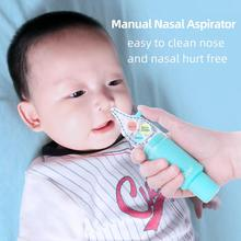 Baby Nose Clean Silicone Infant Nasal Aspirator Wash Your Care Inhaler Preventing Backflow