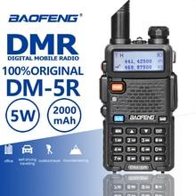 Baofeng DM 5R Tier1 Tier2 Repeater cyfrowe Walkie Talkie DMR dwuzakresowy DM 5R podwójny czas gniazdo dwukierunkowe Radio DM5R Radio Comunicador