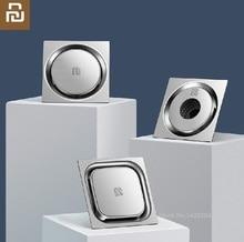 Xiaomi חדש מערבולת 304 נירוסטה ניקוז רצפת מהיר יבש ניקוז אנטי חסימת מסנן רצפת כיסוי מקלחת חדר מטבח ניקוז