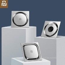 Xiaomiใหม่Vortex 304 ชั้นสแตนเลสท่อระบายน้ำQuick Dry Drainage Anti Blocking Filterชั้นห้องอาบน้ำห้องครัวท่อระบายน้ำ
