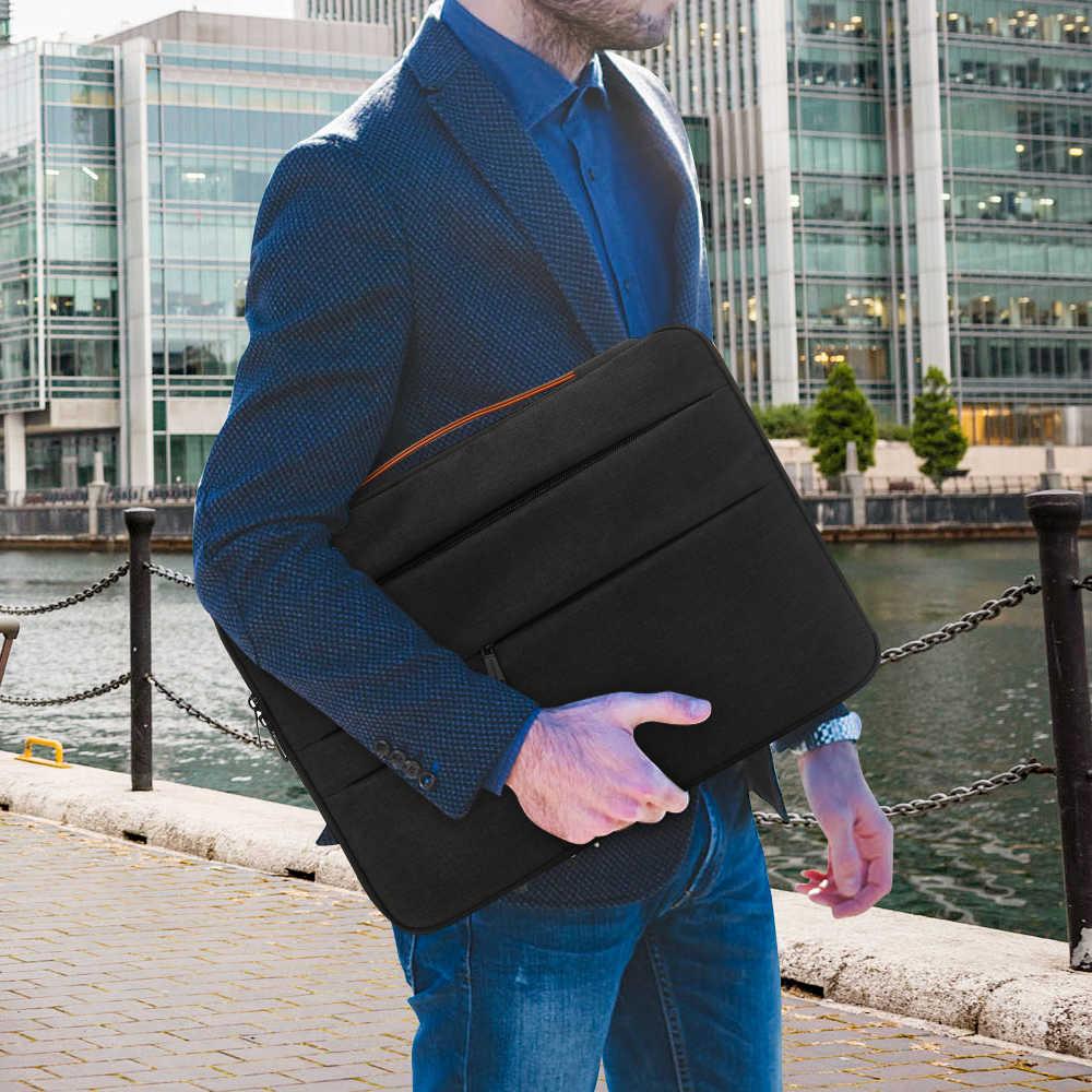 KINGSLONG 17 인치 노트북 슬리브 레노버 XiaoMi Hasee 맥북 에어 HP 17.3 인치 노트북 케이스 오피스 비즈니스 노트북 커버 가방