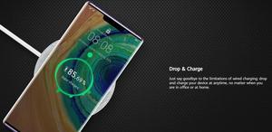 Image 5 - 화웨이 명예 SuperCharge 무선 충전기 최대 27W AP61Qi 표준 TÜV P40 메이트 30 프로 명예 V30 프로 아이폰 11 프로 맥스 XS X