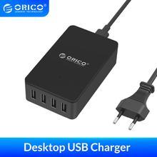 ORICO USB Ladegerät 4/5/6 Port USB Tragbare 5V 2,4 EINE Desktop USB Ladegerät für Pad Telefon Tablet USB Gerät