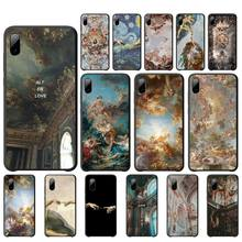Babaite palace of versailles silicone case for iphone 7 8 plus x xs max xr 11 pro mobile phone accessories