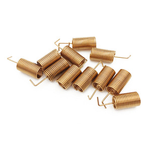 Image 4 - 433MHZ Copper Spring Antenna Spiral Coil Antenna Module 433 Built in PCB Welding Antenna Bend/Right Angle
