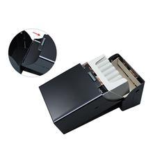 Алюминиевая тонкая сигарета, аксессуары для сигар, чехол для сигар, табак, легко переносится, контейнер для хранения, подарочная коробка
