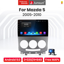 Junsun V1 Pro 4G CarPlay Android 10 4G+64G Car Radio Player For Mazda 5 2005 2006 2007 2008 2009 2010 GPS no 2din 2 din dvd
