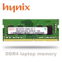 Hynix portátil ddr4 ram 8gb 4GB 16GB PC4 de 2133MHz o 2400MHz 2666Mhz 2400T O 2133P 2666v 3200 DIMM, portátil de memoria 4g 8g 16g ddr4