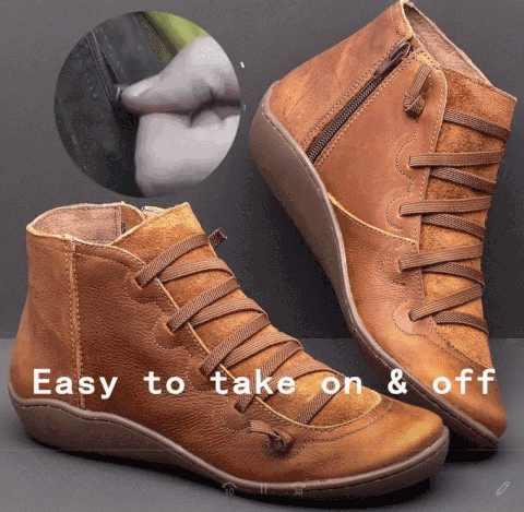 Litthing kadın kış kar botları deri ayak bileği yay düz ayakkabı kadın kısa kahverengi çizmeler kürk kadın dantel kadar çizmeler