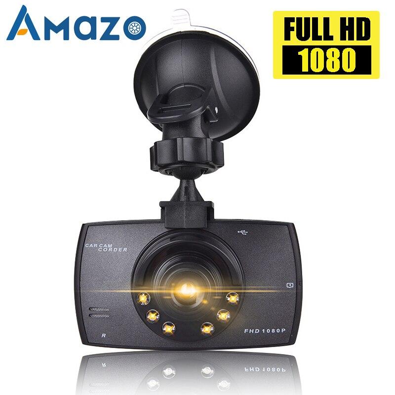 Eletrônica do carro gravador de condução carro dvr câmera g30 completo hd 1080 p 140 graus grande angular dashcam vídeo registradores visão noturna