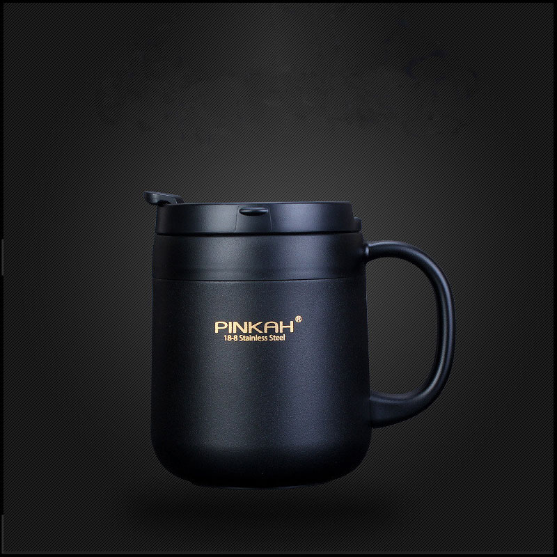 350ml&380ml Portable Double Wall 304 Stainless Steel Thermos Coffee Mugs Office Tea Thermoses Insulated Thermos Cup Water Bottle