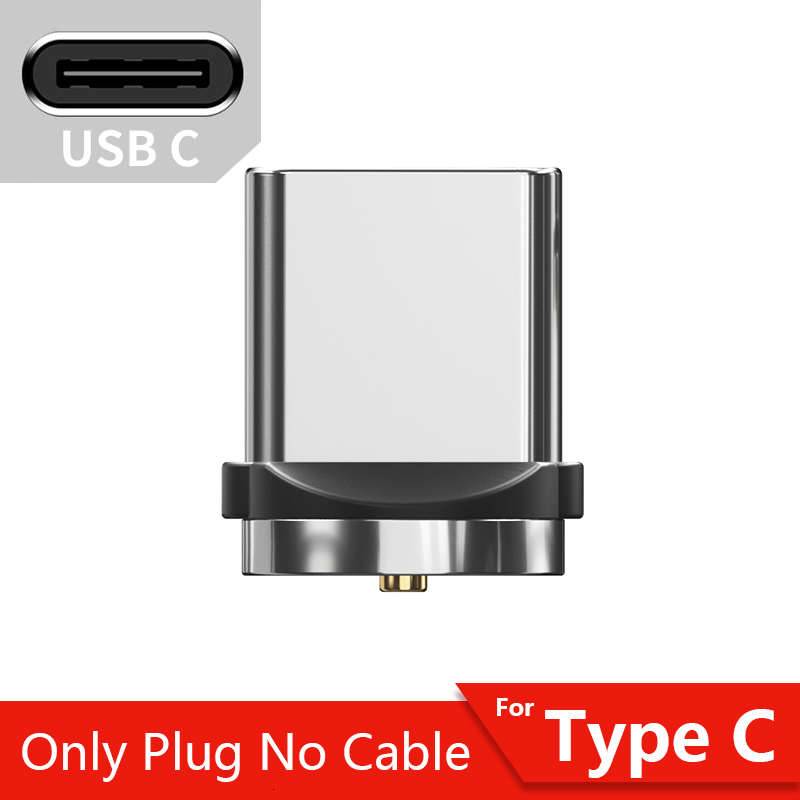 Магнитный Micro USB кабель Essager для iPhone samsung, кабель для быстрой зарядки и передачи данных, Магнитный зарядный кабель usb type-C для мобильного телефона - Цвет: Only Type C Plug