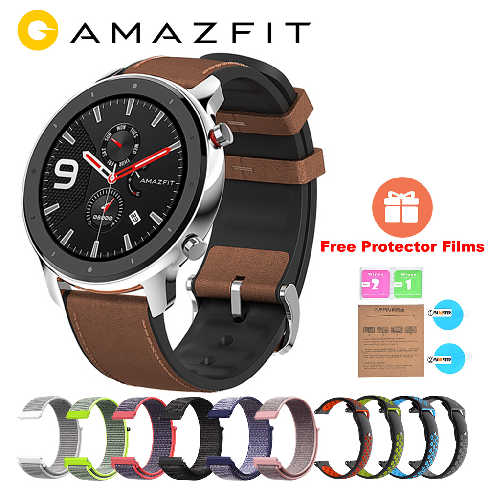 AMAZFIT Waterproof Smartwatch Bluetooth Global-Version Original Heart-Rate-Monitor 5ATM