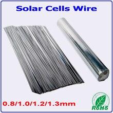 0,8 мм 1,0 мм 1,2 мм 1,3 мм 0,15*2,0 мм солнечная ячейка Вкладка провода 300 мм предрезка, 156 мм моно поликристаллическая солнечная батарея PV лента, солнечная ячейка пайки