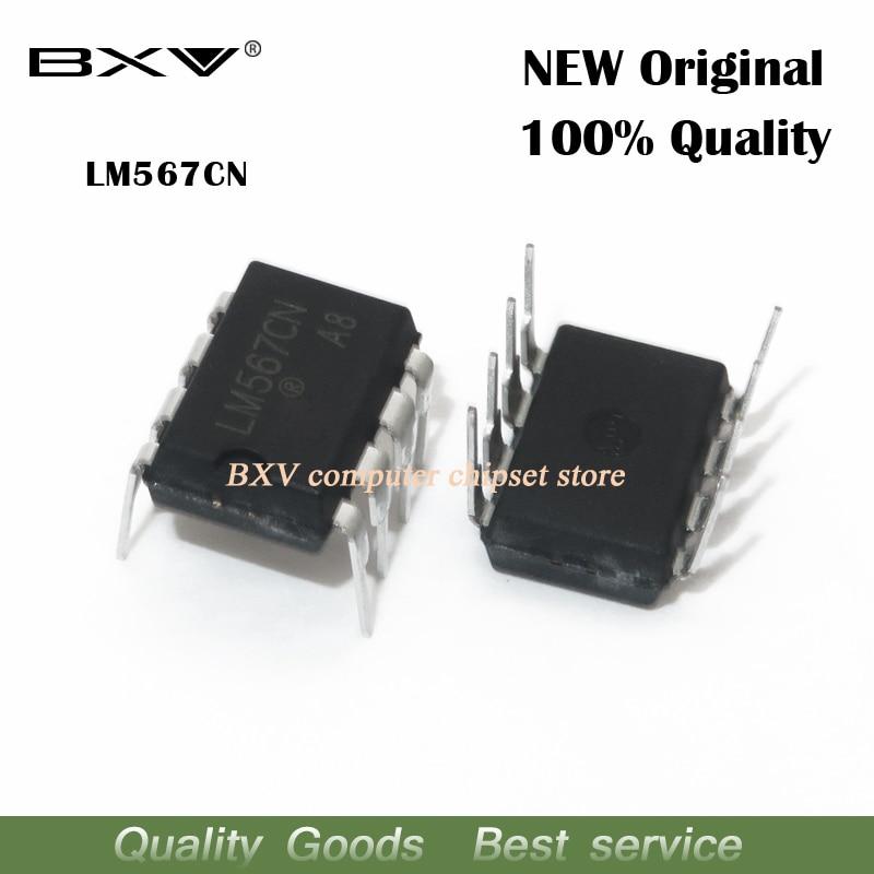 10pcs/lot LM567CN DIP8 LM567C DIP LM567 567CN DIP-8 New And Original IC