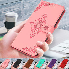 3D lustro kwiat klapki skórzane etui na Xiaomi Redmi uwaga 8 8T 9 9S Pro Max 8 8A 9A 9C portfel etui na karty telefon pokrywy skrzynka Coque