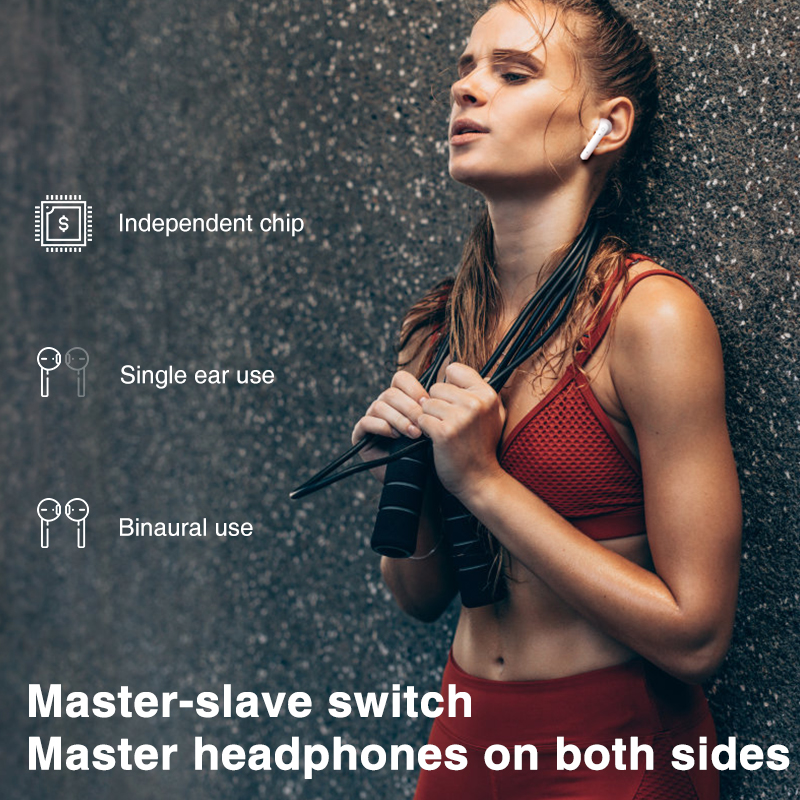 cheapest Lenovo LP1 TWS Wireless Earphone Bluetooth 5 0 Dual Stereo Noise Reduction Bass Touch Control 300mAH                        fone de ouvido
