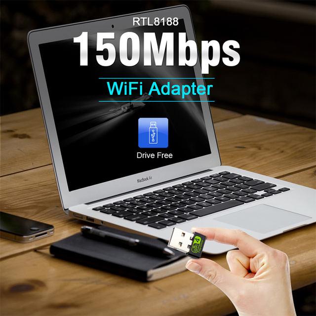 Mini USB WiFi Adapter 150Mbps Wi-Fi Adapter For PC USB Ethernet WiFi Dongle 2.4G Network Card Antena Wi Fi Receiver 5